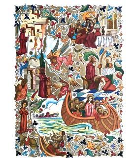 VORAGINE (Jacques de). La Légende dorée. Illustrations de André Dussarthou.