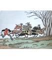 GAUTIER (Théophile). Le Capitaine Fracasse. Illustré d'aquarelles originales de Jean Gradassi. Reliure de Mativet.