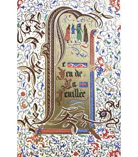 LA HALLE (Adam de). Le Jeu de la feuillée. Illustrations de Jean Gradassi.