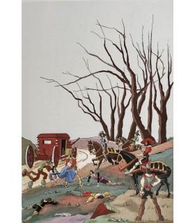 LE SAGE (Alain René). Histoire de Gil Blas de Santillane. Illustrations de Jean Gradassi.