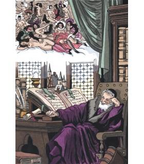 RABELAIS (François). Œuvres. Illustrations en couleurs de Jean Gradassi.