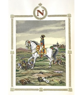 STENDHAL (Henri Beyle, dit). Une vie de Napoléon. Illustrations originales de Jean Gradassi.