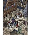 VILLON (François). Les Repeues franches, suivies du Monologue. Miniatures originales de Jean Gradassi.