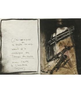 ARRABAL (Fernando). La Madone des flippers. Texte inédit calligraphié par Arrabal. Compositions originales de Julius Baltazar.