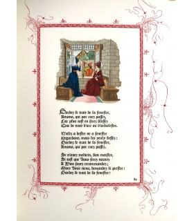 ORLEANS (Charles d'). Poésies. Illustrées par André Hubert. Reliure de l'éditeur.