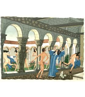 LA FONTAINE (Jean de). Contes. Illustrations d'Henry Lemarié.
