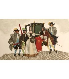 LA FONTAINE (Jean de). Fables. Contes. Illustrations d'Henry Lemarié.