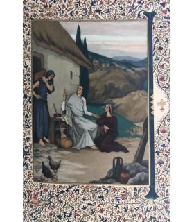 IMITATION DE JESUS-CHRIST. Miniatures d'Yvonne Vaulpré Debeauvais