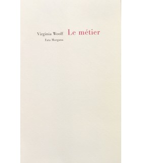 WOOLF (Virginia). Le Métier. Tracés de Pierre Alechinsky.