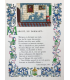 VILLON (François). Œuvres. Miniatures originales en couleurs par André Hubert.