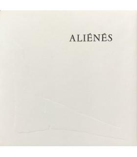 CHAR (René). Aliénés. Gravures de Brigitte Simon. Edition originale.