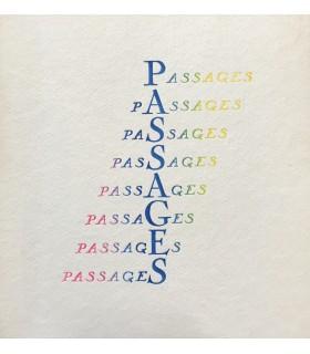 CROMBIE (John). Passages. Edition originale de cette suite de 12 états différents d'un même portrait dessiné par l'auteur.