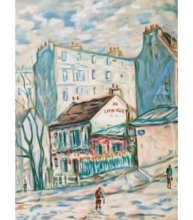 FARGUE (Léon-Paul). Le Piéton de Paris. Lithographies originales de Josy Raynal.