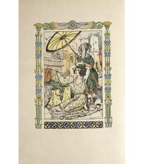 FLAUBERT (Gustave). Hérodias. Illustrations en couleurs par Gustave-Adolphe Mossa.