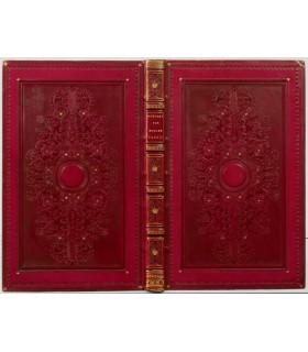 TASTU (Mme Amable). Poésies. Belle reliure romantique signée par Thouvenin.