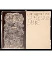 DUBUFFET (Jean). La Fleur de barbe. Edition originale, reproduisant le texte calligraphié et les barbes dessinées par l'auteur.