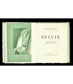 NERVAL (Gérard de). Sylvie. Lithographies originales en couleurs d'André Beaudin.