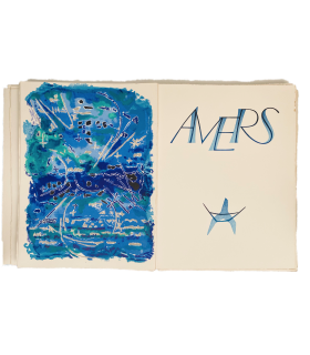 SAINT-JOHN PERSE. Amers. Lithographies originales d'André Marchand.