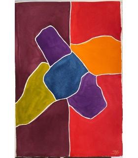 TARDIEU (Jean). C'est-à-dire. Aquarelles originales en couleurs de Fernand Dubuis. Edition originale.