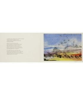 DELAVEAU (Philippe). Eaux délectables. Edition originale illustrée de gravures originales de Julius Baltazar.