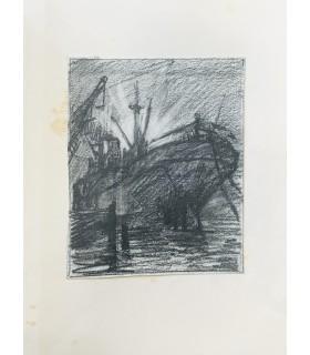 LARROUY (Maurice). Les Vagabonds de la gloire. Campagne d'un croiseur dans l'Adriatique. Pointes sèches de Paul-Louis Guilbert.
