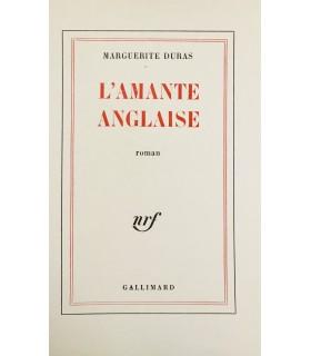 DURAS (Marguerite). L'Amante anglaise. Edition originale. Exemplaire sur vélin.