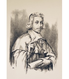 MONTHERLANT (Henry de). Port-Royal. Lithographies de René Aubert.