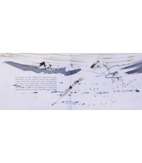 OVIDE. Le Déluge. Un des 7 exemplaires illustrés de 18 aquarelles originales par Julius Baltazar..