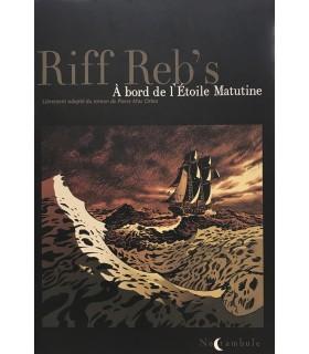 [MAC ORLAN (Pierre)] RIFF REB'S. A bord de l'Etoile Matutine. Bande dessinée librement adaptée du roman de Pierre Mac Orlan.
