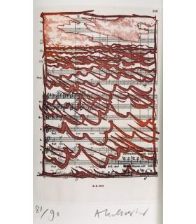 CENDRARS (Blaise). Mon voyage en Amérique. Illustrations de Pierre Alechinsky. Edition originale.