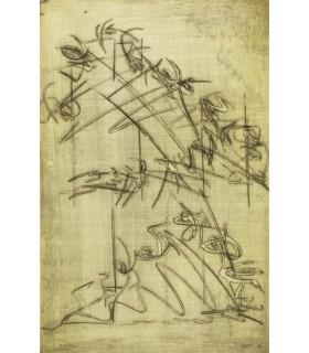BOSQUET (Alain). Le Corps de l'alphabet. Edition originale et premier livre illustré d'eaux-fortes originales par Alain Bar.