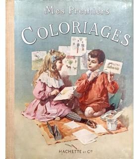 BRES (Henriette Suzanne). Mes premiers coloriages. On doit autant qu'on peut... Dessiner tout le monde.