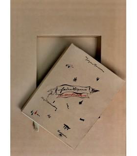 MANSOUR (Joyce). Faire signe au machiniste. Couverture et illustrations de Jorge Camacho. Edition originale. Livre objet.