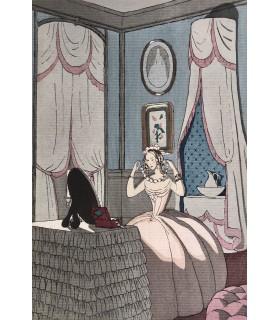 GAUTIER (Théophile). Emaux et camées. Illustrations de A. -E. Marty. Reliure de René Aussourd.