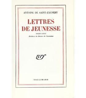 SAINT-EXUPERY (Antoine de). Lettres de jeunesse. 1923-1931. Edition originale.