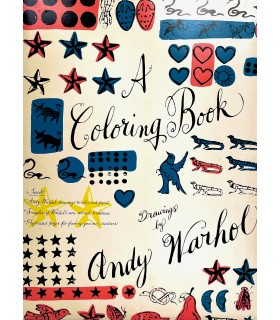 WARHOL (Andy). A coloring book. Drawings by Andy Warhol. Première édition.
