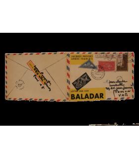 PREVERT (Jacques). Lettre des îles Baladar. Edition originale. Illustrations d'André François.