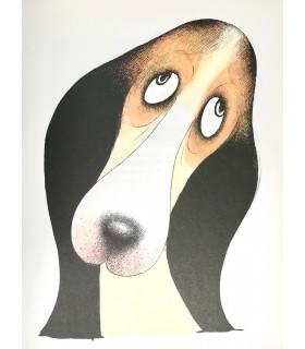MERY (Docteur F. ). Entre chiens. Premier tirage des illustrations de Dubout.