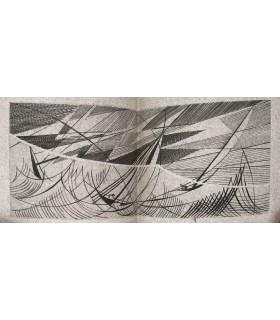 [MARTIN (Pierre-Lucien)] DENAULT (Lucien). Lieux communs. Edition originale. Burins de G. de Coster. Reliure de P.-L. Martin.