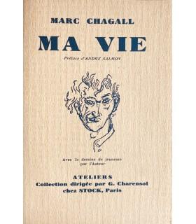 CHAGALL (Marc). Ma vie. Traduit du russe par Bella Chagall, préface d'André Salmon. Edition originale, illustrée par l'auteur.