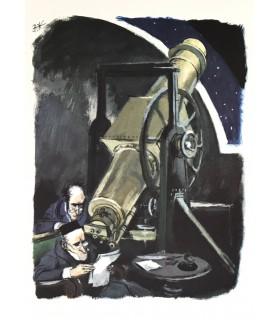 VERNE (Jules). De la terre à la lune. Illustrations de Georges Beuville.