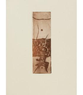 SENAC (Jean). Poésie. Edition originale illustrée d'eaux-fortes originales d'Abdallah Benanteur.