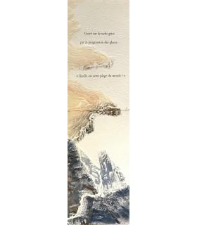 WHITE (Kenneth). Une idée du Nord. Illustrations originales de Jacqueline Ricard. Edition originale.