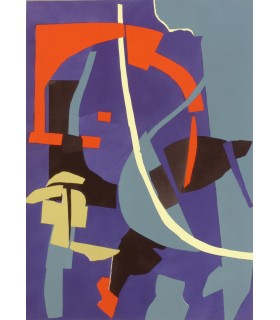 LECUIRE (Pierre). Cortège. Edition originale, illustrée par André Lanskoy.
