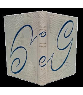 LARBAUD (Valery). Ce vice impuni, la lecture. Domaine français. Cartonnage NRF, relié d'après la maquette de Paul Bonet.