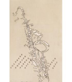 RAMALLO (Jean). Jazz du désir. Edition originale. Illustrations d'Alain Bar.