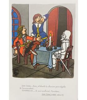 [EFFEL (Jean)] Comment on s'enrhume chez Molière. Illustrations de Effel.