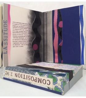 DEGUY (Michel). Composition 7. 92. Edition originale, entièrement réalisée par Dorny, avec boîte-étui décorée par l'artiste.