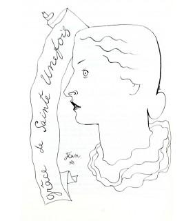 VILMORIN (Louise de) - COCTEAU (Jean). Correspondance croisée. Edition originale.