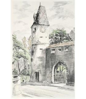 SCHMITT (Pierre). Images de l'Alsace. Pointes sèches de Charles Samson. Edition originale.